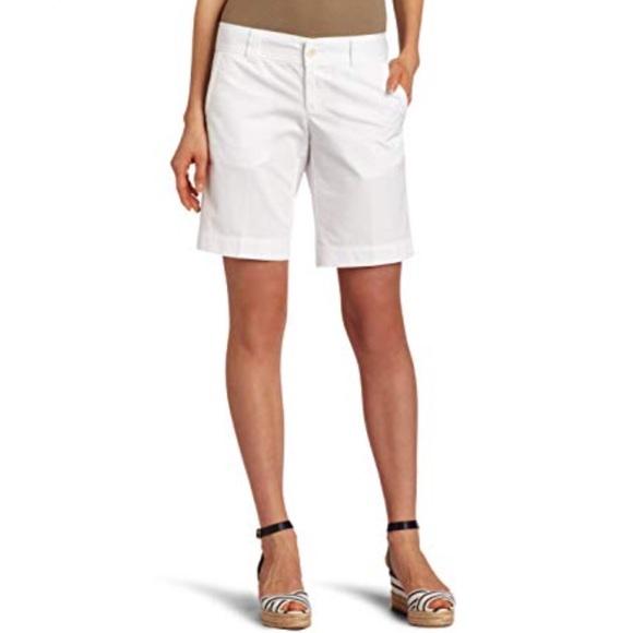 Lilly Pulitzer Pants - Lilly Pulitzer white Bermuda shorts